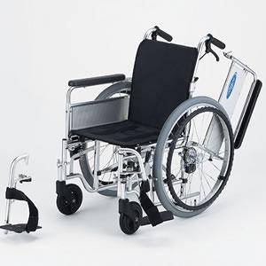 自走型車いす モジュラー式車いす EX-M 低床フレーム 日進医療器