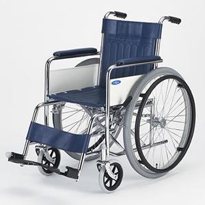 自走型車いす スチール製車いす ND-1 日進医療器