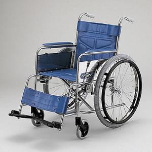 自走型車いす スチール製車いす ND-12AM 日進医療器