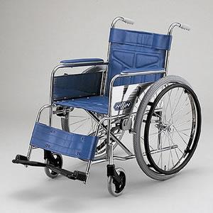 自走型車いす スチール製車いす ND-12AL 日進医療器