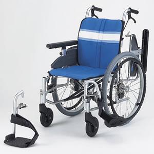 モジュラー式車いす NA-3DX (自走用) 日進医療器