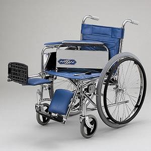 自走型車いす スチール製車いす ND-14 日進医療器