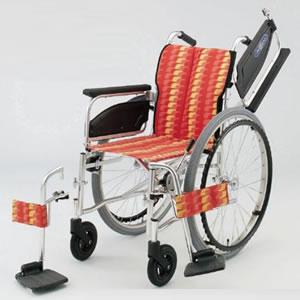 自走型車いす NA-400シリーズ Wtype NA-466W 日進医療器