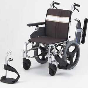介助型車いす モジュラー式車いす NA-3DX(介助用) 日進医療器