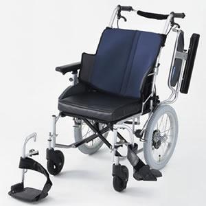 介助型車いす 座王シリーズ スタンダード NAH-521W 日進医療器