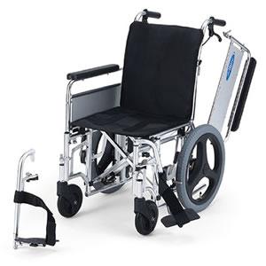 介助型車いす モジュラー式車いす EX-M3(介助用) 日進医療器