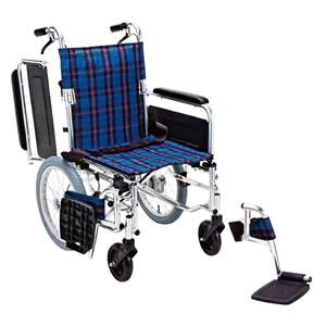 多機能タイプ介助型車椅子 KS70-4043 マキテック