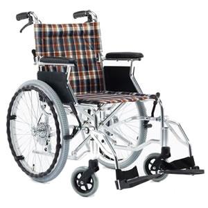 アルミ製自走介助兼用 カラフル車椅子 PALET カラーチェック