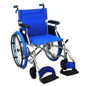 アルミ製 自走介助兼用 カラフル車椅子 PALET