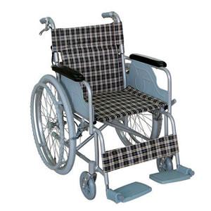 【TacaoF】ハンドブレーキ付き 自走介助兼用車椅子 B-31 幸和製作所