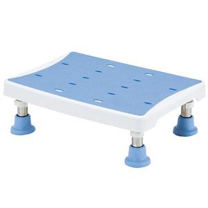 浴槽台 アシスト 2段階 ライトブルー YAS-L01LB マキテック 高さ12-14.5cm
