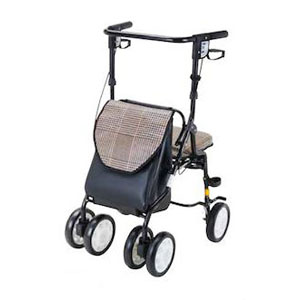 歩行車 ホクシー 黒チェック HX-3KC マキテック