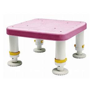 ダイヤタッチ浴槽台 コンパクト ピンク SYC15-25 シンエイテクノ 高さ15-25cm