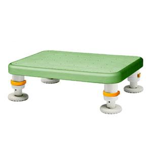 ダイヤタッチ浴槽台 レギュラー グリーン SYR10-15 シンエイテクノ 高さ10-15cm