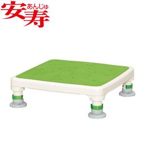 安寿 アルミ製浴槽台 あしぴた ジャスト10-15 グリーン 536-518 アロン化成 高さ10-15cm