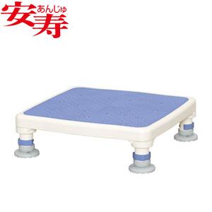 安寿 アルミ製浴槽台 あしぴた ジャスト10-15 ブルー 536-511 アロン化成 高さ10-15cm