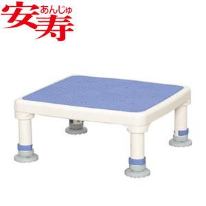 安寿 アルミ製浴槽台 あしぴた ジャスト15-25 ブルー 536-513 アロン化成 高さ15-25cm