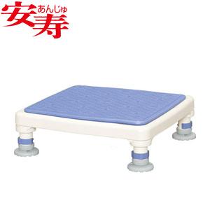 安寿 アルミ製浴槽台 あしぴた ジャストソフト10-15 ブルー 536-515 アロン化成 高さ10-15cm