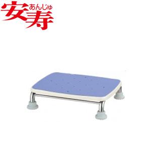 安寿 ステンレス製浴槽台R あしぴた ジャスト10 ブルー 536-491 アロン化成 高さ10cm