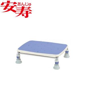 安寿 ステンレス製浴槽台R あしぴた ジャスト12-15 ブルー 536-493 アロン化成 高さ12-15cm