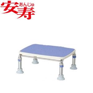 安寿 ステンレス製浴槽台R あしぴた ジャスト17.5-25 ブルー 536-497 アロン化成 高さ17.5-25cm