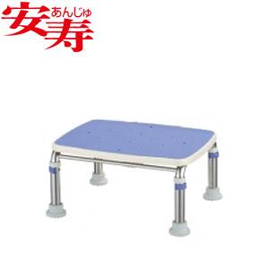 安寿 ステンレス製浴槽台R あしぴた ジャスト20-30 ブルー 536-499 アロン化成 高さ20-30cm