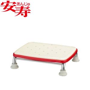 安寿 ステンレス製浴槽台R あしぴた ジャストソフト10 レッド 536-500 アロン化成 高さ10cm