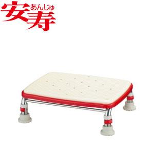 安寿 ステンレス製浴槽台R あしぴた ジャストソフト12-15 レッド 536-501 アロン化成 高さ12-15cm