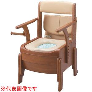安寿 家具調トイレ セレクトR 自動ラップ ノーマルタイプ ソフト便座 533-941 アロン化成