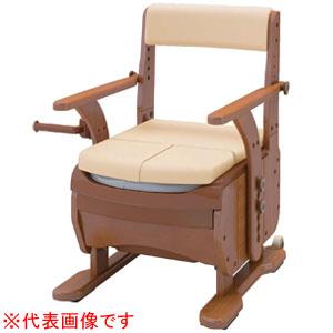 安寿 家具調トイレ セレクトR ノーマル ワイド ソフト便座 533-857 アロン化成