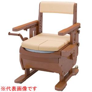 安寿 家具調トイレ セレクトR はねあげ ワイド ソフト便座 533-872 アロン化成