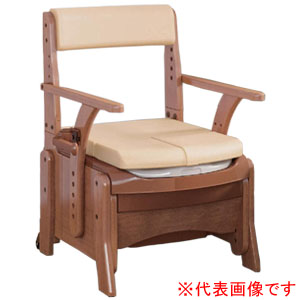 安寿 家具調トイレ セレクトR コンパクト ソフト・快適脱臭 533-884 アロン化成