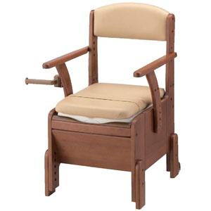 安寿 家具調トイレ コンパクト 標準便座 533-670 アロン化成