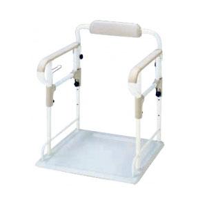 安寿 ポータブルトイレ用フレーム ささえ 533-070 アロン化成 幅51.5・奥行54cm以下対応