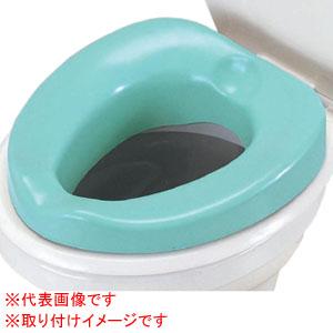 安寿 ソフト補高便座(#5) 535-255 アロン化成 (補高+5cm)