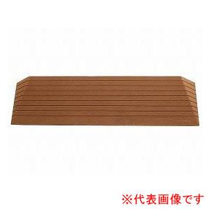 硬質ゴム製すべり止め段差解消スロープ ダイヤスロープ DS76-90 シンエイテクノ 高さ9.0cm