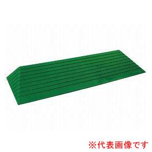硬質ゴム製すべり止め段差解消スロープ ダイヤスロープ屋外用 DSO76-60 シンエイテクノ 高さ6.0cm