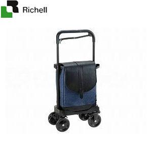 ショッピングカート サンポルテEX ブルーデニム 44192 リッチェル