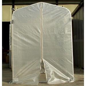 アルミフレーム温室(アルミフラワー温室) FO-0.5型 アルミス 0.5坪タイプ