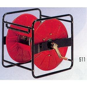 強力型組立巻取機 角型ストロングリール SLK-100型 永田製作所 G1/4より戻し付 φ8.5x100m用
