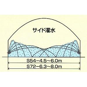 ミストエース S54 100m巻*2本セット 住化農業資材