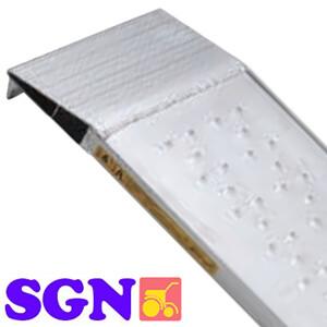 農機用 平面型 アルミブリッジ SGN-180-30-0.5T(1セット2本) 昭和ブリッジ【受注生産品】【個人法人別運賃】