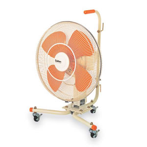 扇風乾燥機 クールスイファン 首振式45CD-1V EP-520-810-0 テラモト
