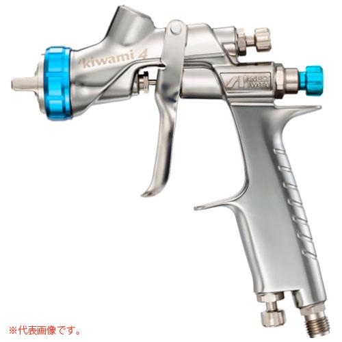 水性塗料専用スプレーガン 重力式(ノズル口径φ1.4mm) W-400WB-142G アネスト岩田
