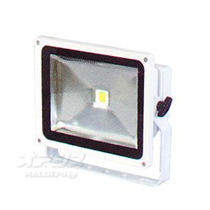 LEDエコナイター(30W) 白/昼光色 LEN-30D-ES-W 日動工業