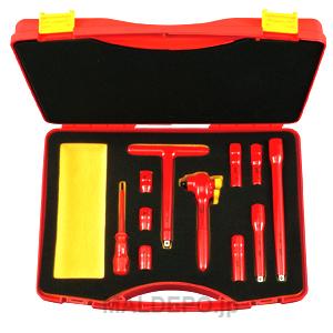 絶縁工具セット ZTB311SP KTC