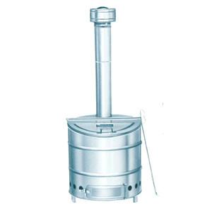 家庭用 ステンレス製焼却炉 80型 三和式ベンチレーター(株)