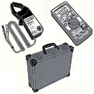 クランプセンサー&マルチテスター&アルミケース3点セット TRDCA-1 デンゲン