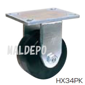 超重荷重用 HX スーパーストロングキャスター HX34PK-300 オーエッチ工業(OH) 固定 プラスカイト φ300mm 1250kg