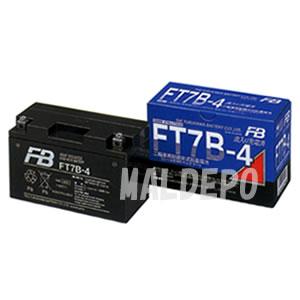 二輪車用MFバッテリー FT7B-4 古河電池